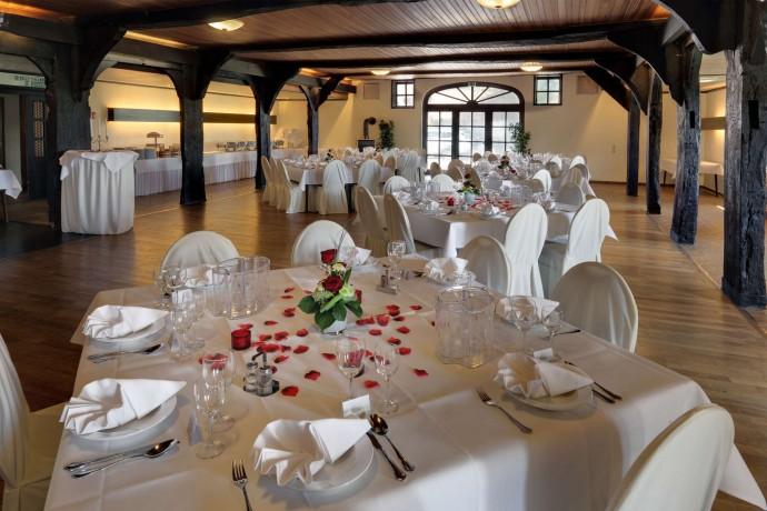 Unser Saal eignet sich ideal für Hochzeitsfeiern