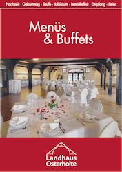 Menüs und Buffets